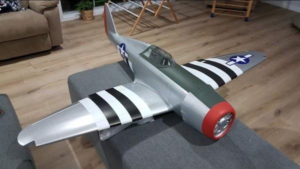 Hanger 9 P47 - Aereo RC a scoppio