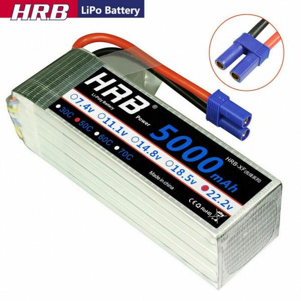 Batteria Lipo 6S HRB 5000