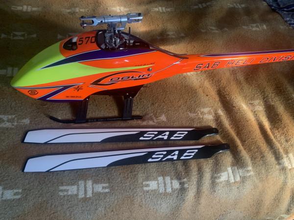 SAB Goblin 570 Sport con elettronica
