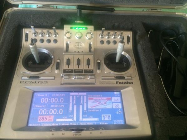 Futaba FX-40 modulo 2.4 Jeti Duplex + variometro