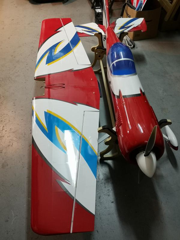Maxi modello Sukhoi 31 della Great planes