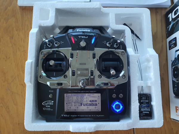 Futaba T10J MODE 1 Radiocomando
