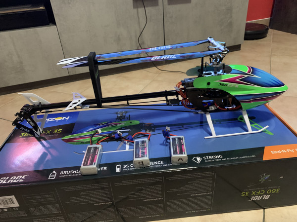 Elicottero RC BLADE 360 CFX