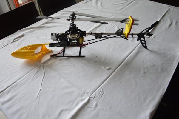 Elicottero Eagle 3D Sabattini clone TREX
