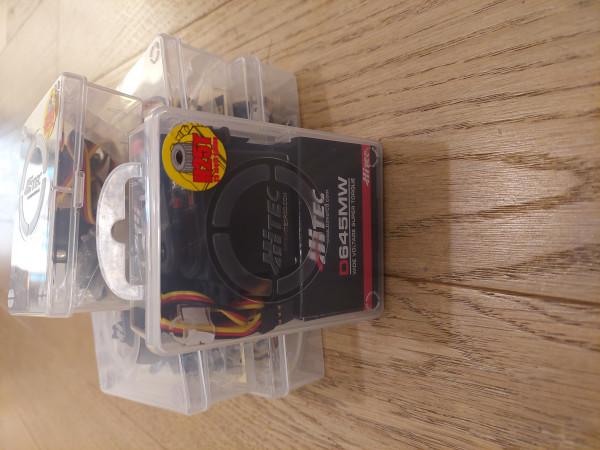 Servi x6 Hitec D645MW 13KG 7.4V Digitali  150